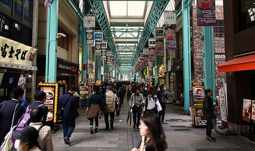 shopping mall in Japan